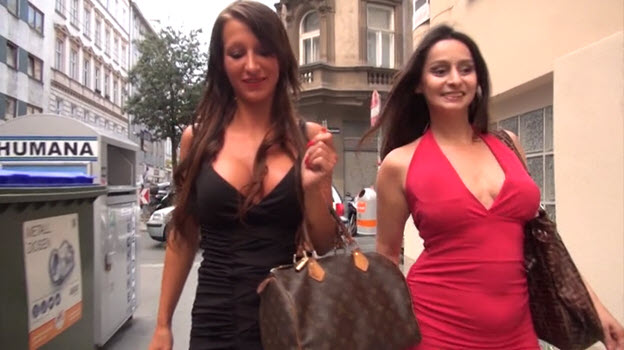 Libertine Ladies go out for some Fun in the Swingers Club
