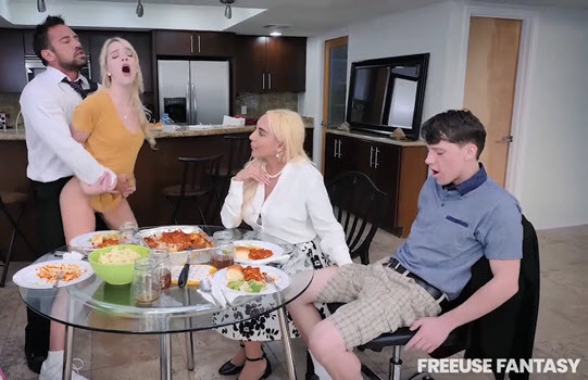 Step-Family that Fucks Together Always Stays Together